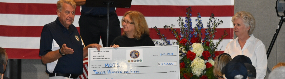 Lakewood Ranch AVMS donation to M.O.T.S.