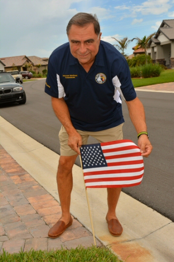 Del Webb Lakewood Ranch AVMS Commander Herman Martinez Memorial Day 2018
