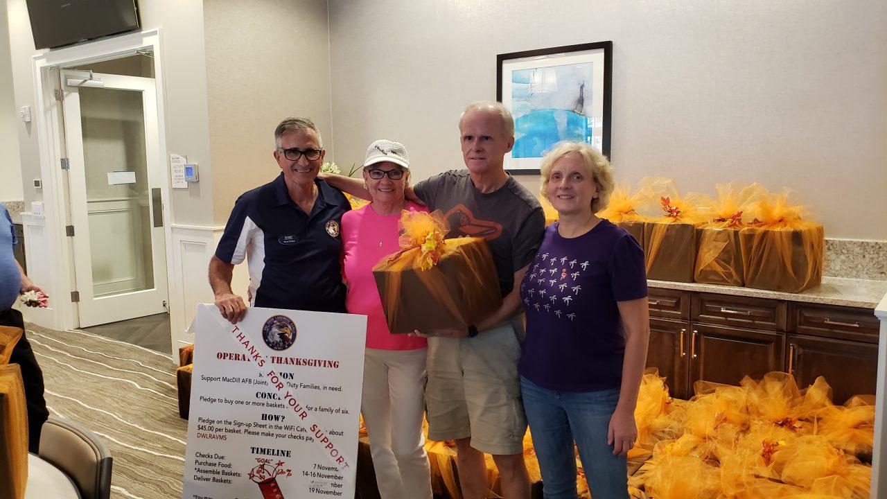 Operation Thanksgiving Project Leaders: Steve Dretar and Jon Moneyhun