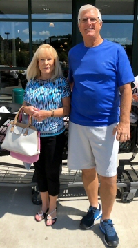 Debbie Pye and husband Jim members of the Del Webb AVMS