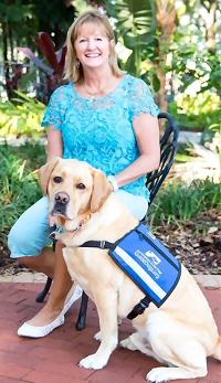 Karen Conkel Ambassador handler from GuideDogs.org