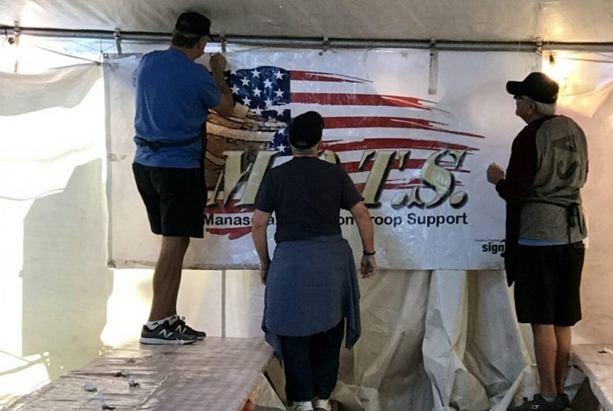 Del Webb veterans group volunteers to help M.O.T.S. at 2019 Sarasota County Fair