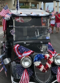 Del Webb July 3 Golf Cart Parade participant