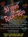 50 Years of Rock and Roll fundraiser for MOTS