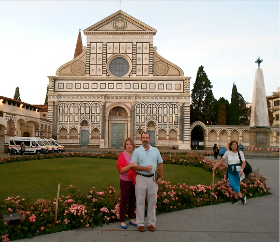2020 Member of the Quarter Dave and Karen Richards in Italy