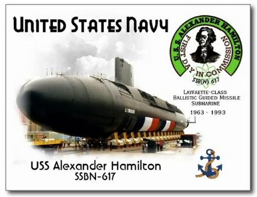 SSBN-617 USS Alexander Hamilton