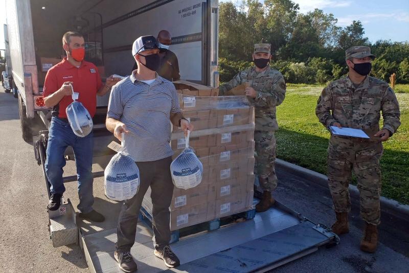 Operation Thanksgiving 2020 turkeys from Winn Dixie Gives Foundation